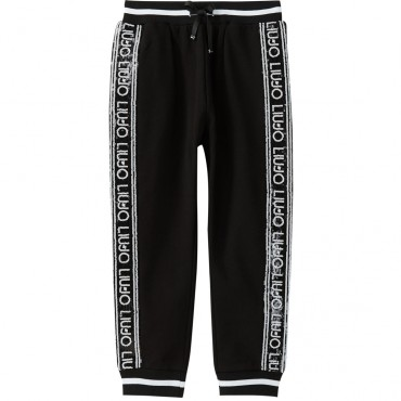 Sportowe spodnie dla dzieci glamour Liu Jo 003346 A