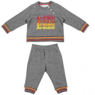 Dresy niemowlęce reglan Emporio Armani 003352 A
