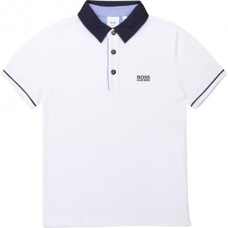 Elegancka koszulka polo dla chłopca Boss 003363 A