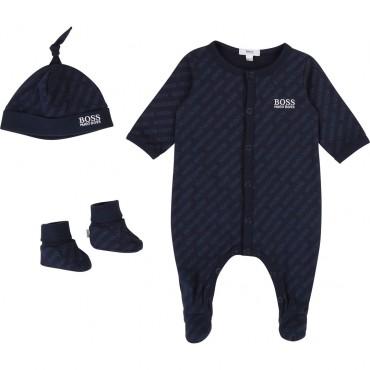 Ekskluzywny komplecik niemowlęcy Hugo Boss 003372