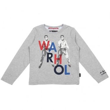 Koszulka chłopięca z Elvisem Andy Warhol 003386
