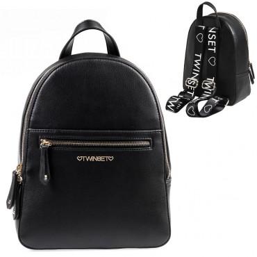 Czarny plecak Twin Set 003392 A