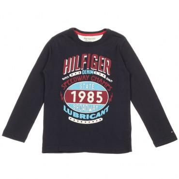 Koszulka dziecięca nadruk Tommy Hilfiger 003395 A