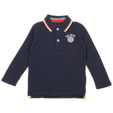 Chłopięca koszulka polo Tommy Hilfiger 003414