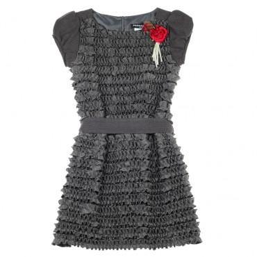 Wizytowa sukienka dla dziewczyny Paesaggino 003425