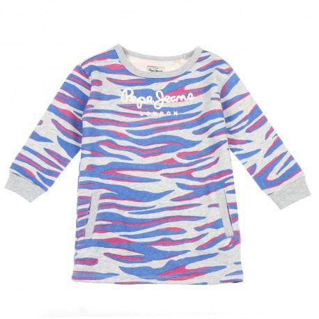 Tunika dla dziewczynki Pepe Jeans 003429 - oryginalne ubranka dla dzieci