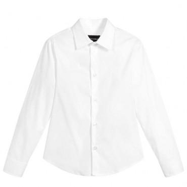 Biała koszula dla chłopca Emporio Armani 003434 A