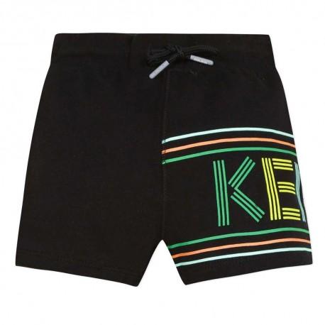 Czarne szorty chłopięce Kenzo Kids 003444 A