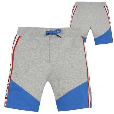 Odzież dla dzieci Kenzo Kids - bawełniane szorty chłopięce 003455 A