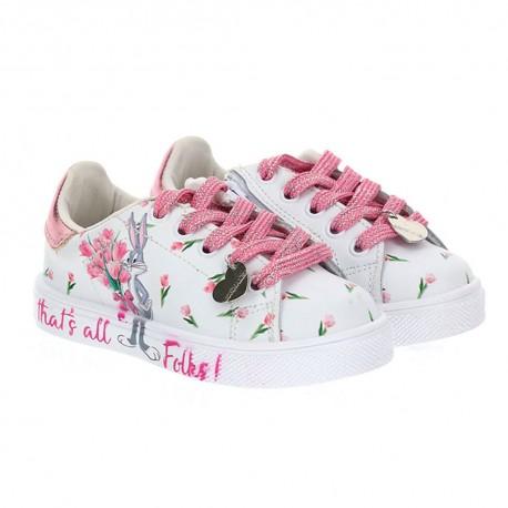 Sneakersy dziewczęce Bunny Bugs Monnalisa 003479 - oryginalne obuwie dla dzieci - sklep internetowy euroyoung.pl