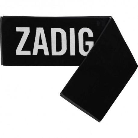Ręcznik kąpielowy z logo Zadig&Voltaire 003498 A