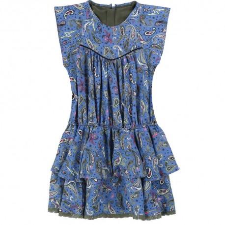 Dziewczęca sukienka z wiskozy Z&V 003503 A