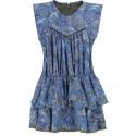 Dziewczęca sukienka z wiskozy Z&V 003503