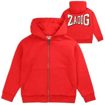 Sportowa bluza chłopięca Zadig&Voltaire 003509 A