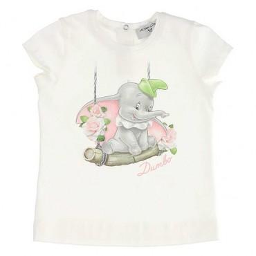 Koszulka niemowlęca Dumbo Monnalisa 003531 A
