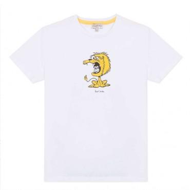 Bawełniany t-shirt dziecięcy Paul Smith 003543