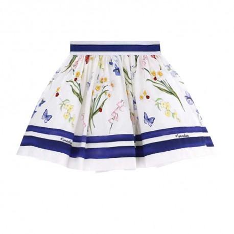 Spódnica dziewczęca w kwiaty Monnalisa 003547 A