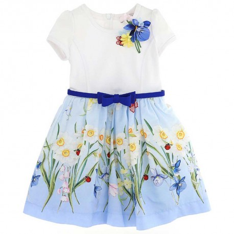 Efektowna sukienka dla dzieckai Monnalisa 003548