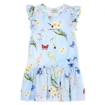 Codzienna sukienka dla dziecka Monnalisa 003549