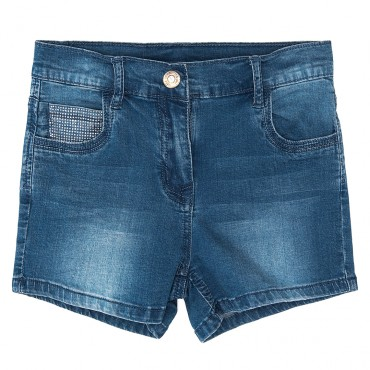 Szorty z jeansu Monnalisa 0061 A