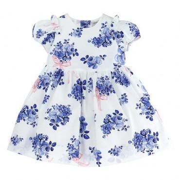 Efektowna sukienka niemowlęca Monnalisa 003560 A