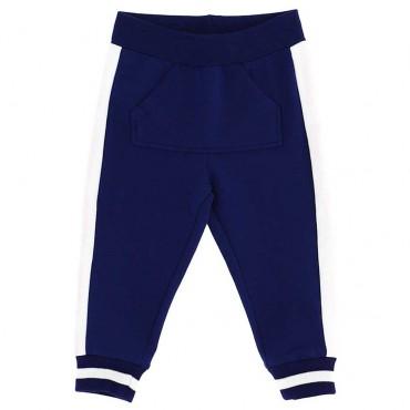 Ekskluzywne ubranka dla niemowląt. Spodnie niemowlęce z dzianiny Monnalisa 003564 A
