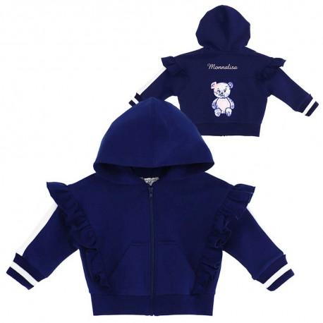 Ekskluzywne ubrania dla niemowląt. Bluza niemowlęca Monnalisa Bebe 003567 A