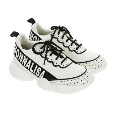 Obuwie dziecięce. Sportowe buty dla dziewczynki Monnalisa 003569 A