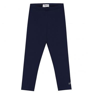 Granatowe legginsy dziewczęce Monnalisa 003572 A