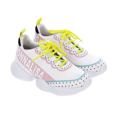 Wiązane buty dla dziecka Monnalisa 003587 A