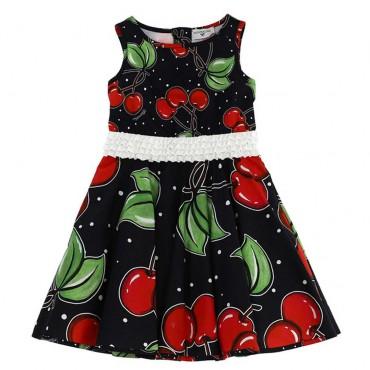 Rozkloszowana sukienka dziewczęca Monnalisa 003589 A