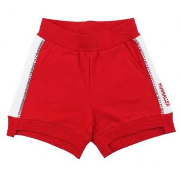 Czerwone szorty dla dziecka Monnalisa 003594 A