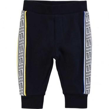 Chłopięce spodnie dresowe Hugo Boss 003600