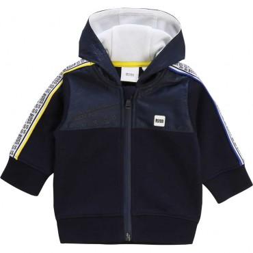 Sportowa bluza dla chłopca Hugo Boss 003605