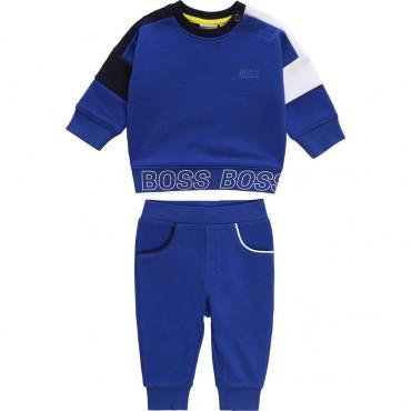 Dres niemowlęcy Hugo Boss 003607 - oryginalne ubranka dla dzieci A