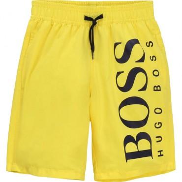 Szorty kąpielowe dla chłopca Hugo Boss 003616 - oryginalne ubrania dla dzieci A