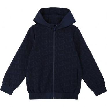 Dwustronna bluza dla chłopca Hugo Boss 003623 A