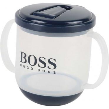 Granatowy kubek dla malucha Hugo Boss 003632 B