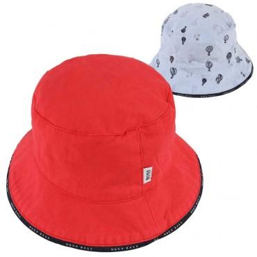 Dwustronny kapelusz niemowlęcy Hugo Boss 003635 A