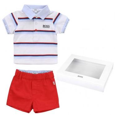 Komplet niemowlęcy Hugo Boss, gift box 003636 A