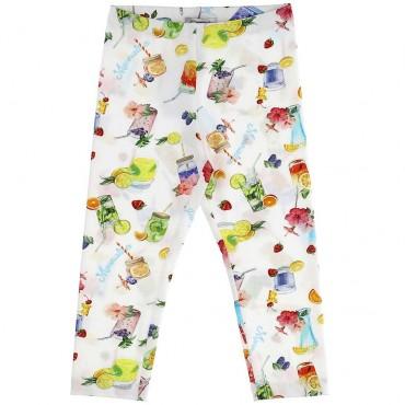 Drukowane legginsy dziewczęce Monnalisa 003640