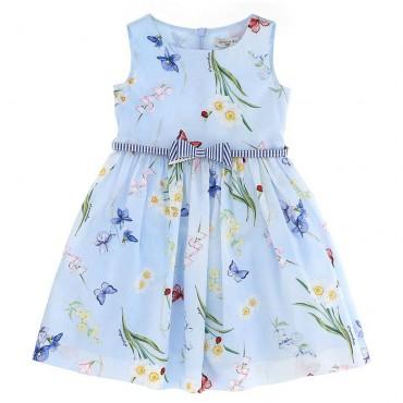Letnia sukienka dziewczęca Monnalisa 003644