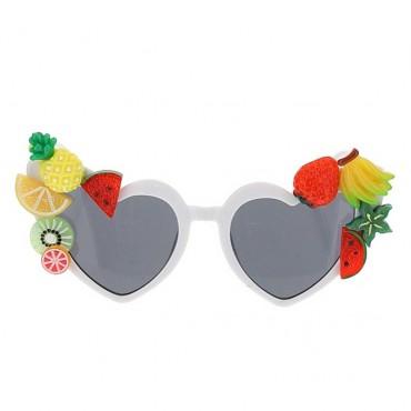 Białe okulary przeciwsłoneczne dla dziecka - sklep dla dzieci - 003649 A