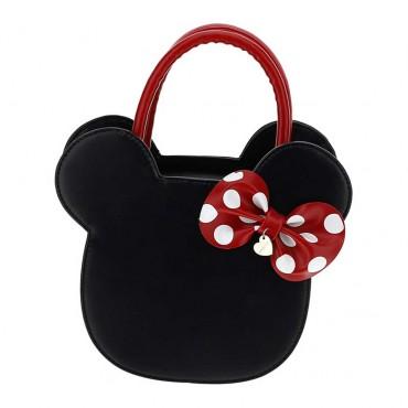 Czarna torebka dla dziewczynki Monnalisa 003656