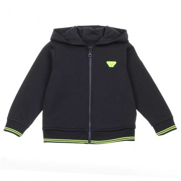 Bluza dla chłopca hologram Emporio Armani - sklep z ubraniami dla dzieci - 003662 A