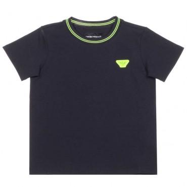 T-shirt chłopięcy hologram Emporio Armani 003663
