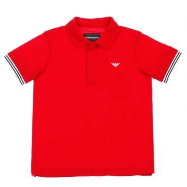 Chłopięca koszulka polo Emporio Armani - ubrania dla dzieci -  003668 A