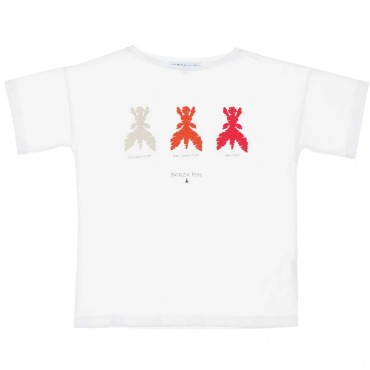 T-shirt oversize dla dziecka Patrizia Pepe 003676 A