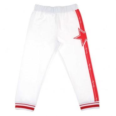Spodnie dla dziewczynki Patrizia Pepe 003677 - ekskluzywne ubrania dla dzieci -  A