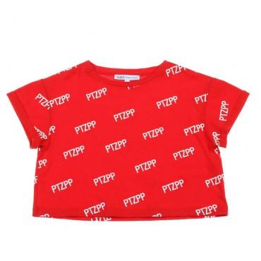 Krótka koszulka dla dziecka Patrizia Pepe 003675 A